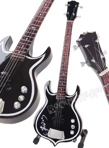 miniaturka gitary KISS - GENE SIMMONS SIGNATURE: PUNISHER BASS