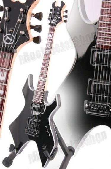 "miniaturka gitary SLIPKNOT - MICK THOMPSON: B.C. RICH WARLOCK ""HATE"" STYLE (MPA91)"