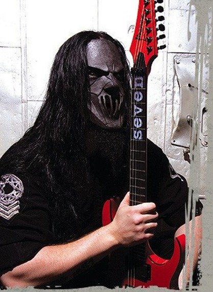 miniaturka gitary SLIPKNOT - MICK THOMPSON: IBANEZ MTM RED