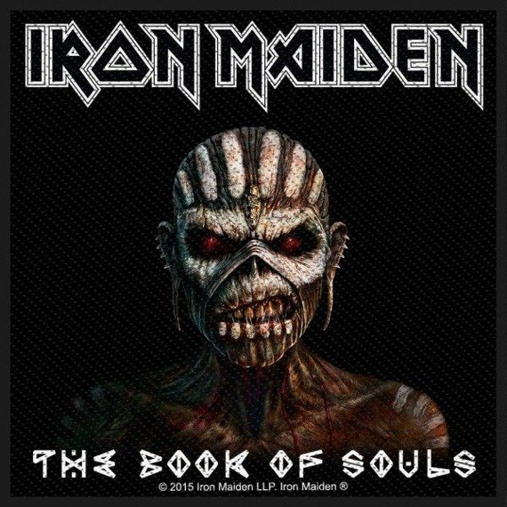 naszywka IRON MAIDEN - THE BOOK OF SOULS
