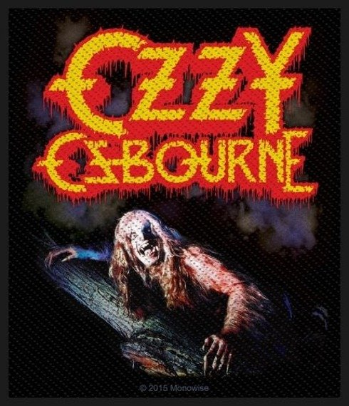 naszywka OZZY OSBOURNE - BARK AT THE MOON