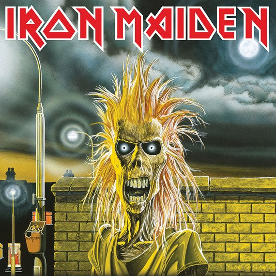 obraz na płótnie IRON MAIDEN - FIRST ALBUM