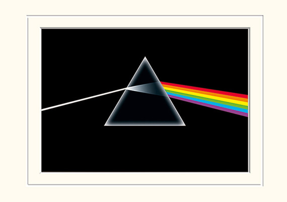 obraz w ramie PINK FLOYD - DARK SIDE OF THE MOON