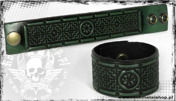 opaska napa 32mm TRIBAL green