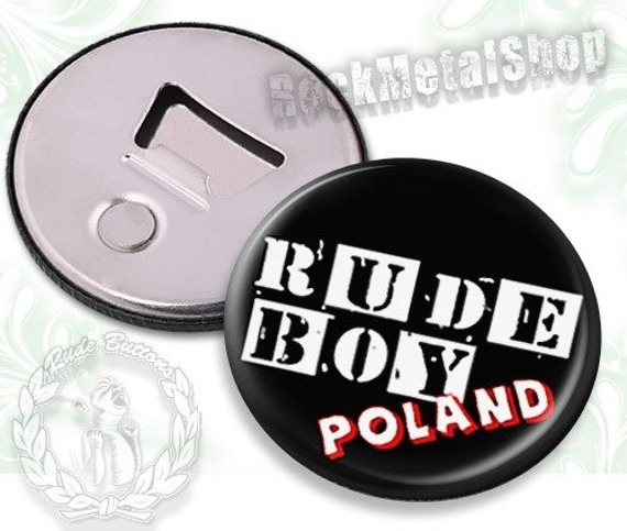otwieracz do piwa RUDE BOY POLAND