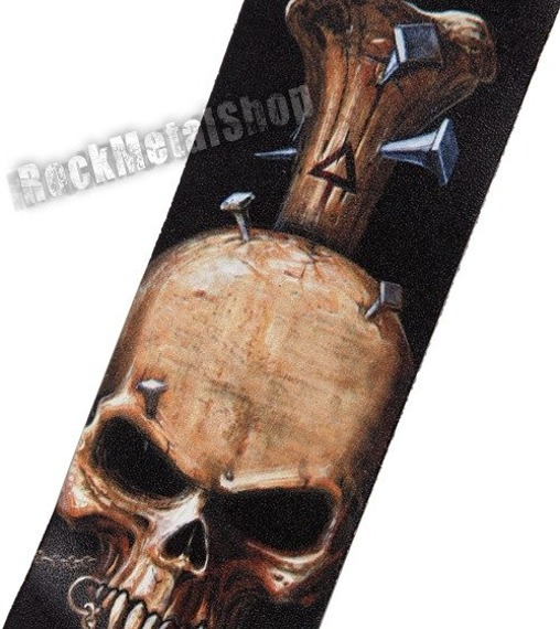 pas do gitary PLANET WAVES - ALCHEMY GOTHIC LEATHER: NAILED STRAP (25LAL03)