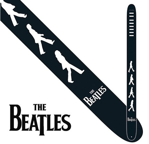 pas do gitary THE BEATLES -  ABBEY ROAD vegan leather, 63mm