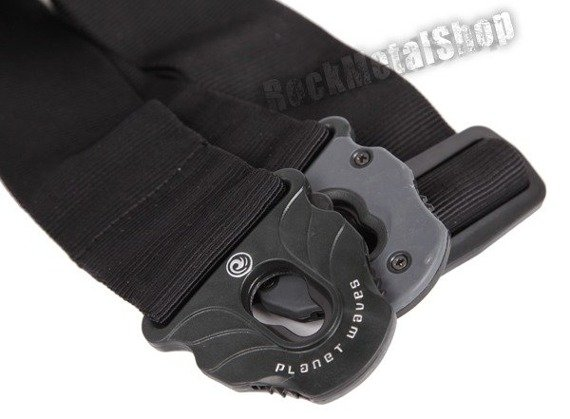 pas gitarowy PLANET WAVES LOCK BLACK (50PLA05) straplock