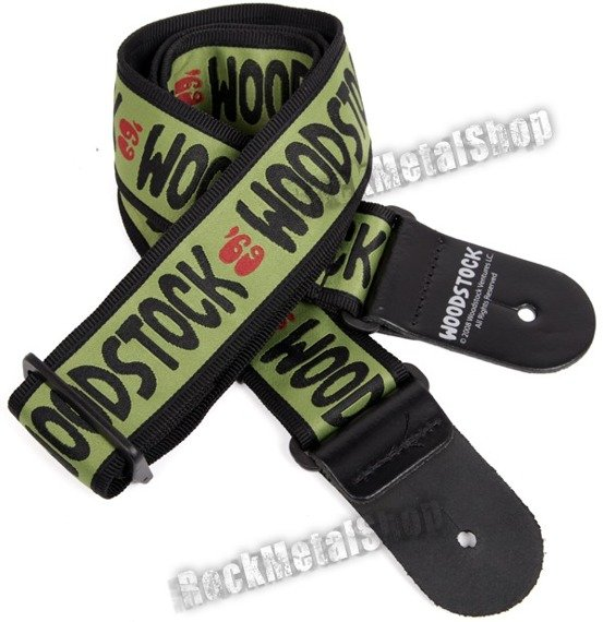 pasek do gitary PLANET WAVES - WOODSTOCK COLLECTION: ARMY 69 (50W05)