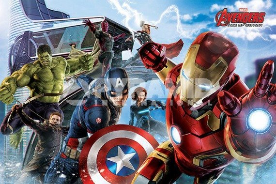 plakat AVENGERS - AGE OF ULTRON (RE-ASSEMBLE)