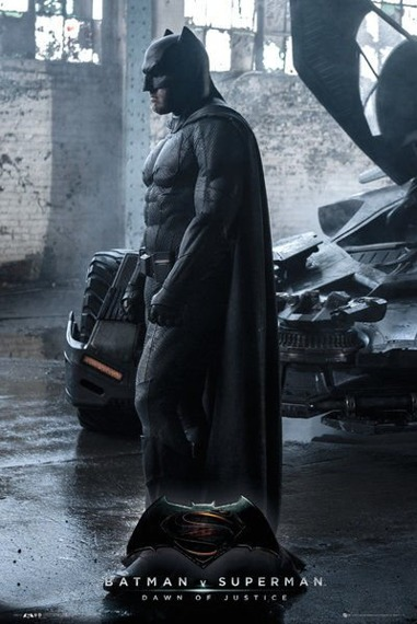 plakat BATMAN VS SUPERMAN - BATMAN