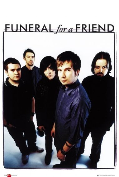plakat FUNERAL FOR A FRIEND - BAND