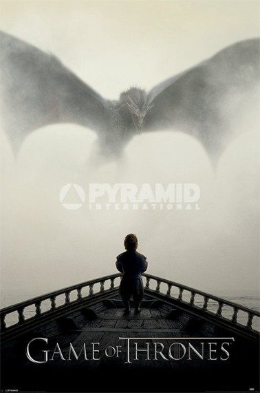 plakat GAME OF THRONES - A LION & A DRAGON