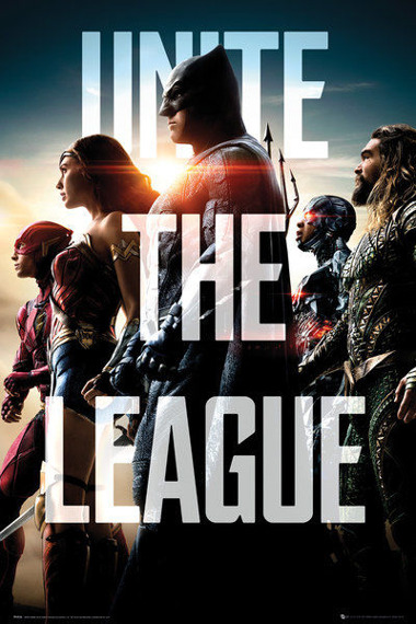 plakat JUSTICE LEAGUE - MOVIE TEAM