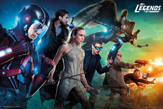 plakat LEGENDS OF TOMORROW - TEAM