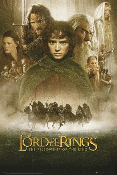 plakat LORD OF THE RINGS - FELLOWSHIP OF THE RING