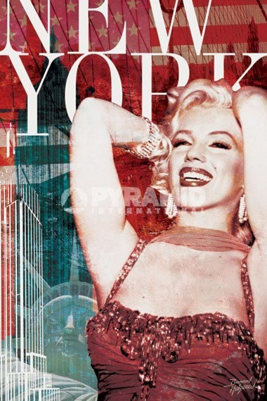 plakat MARILYN MONROE (NEW YORK) - BERNARD OF HOLLYWOOD