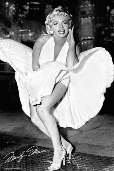 plakat MARILYN MONROE - NEW YORK DRESS
