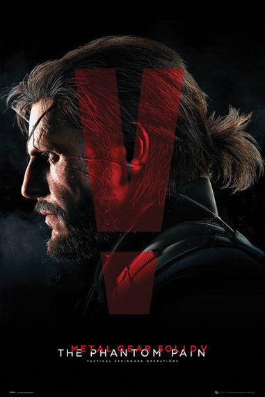 plakat METAL GEAR SOLID - COVER