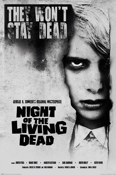 plakat NIGHT OF THE LIVING DEAD - LIVING DEAD GIRL