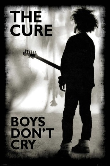 plakat THE CURE - BOYS DON'T CRY