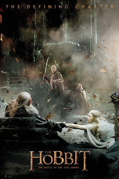 plakat THE HOBBIT - BATTLE OF FIVE ARMIES AFTERMATH