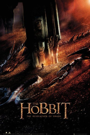 plakat THE HOBBIT - DESOLATION OF SMAUG DRAGON