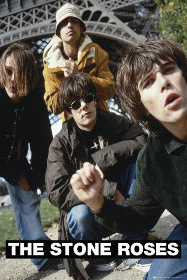 plakat THE STONE ROSES - BAND (BRAVADO)