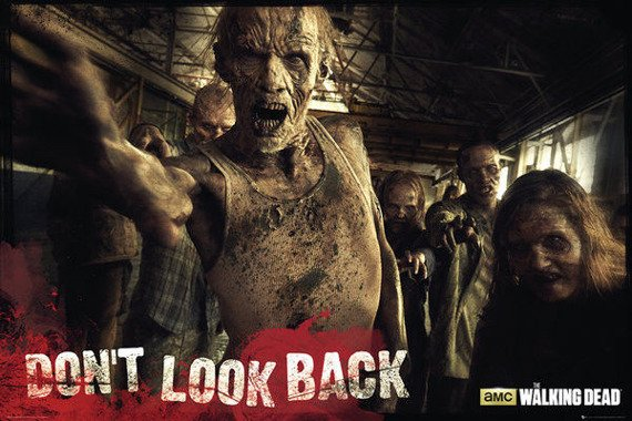 plakat THE WALKING DEAD - ZOMBIES