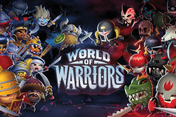 plakat WORLD OF WARRIORS - CHARACTERS