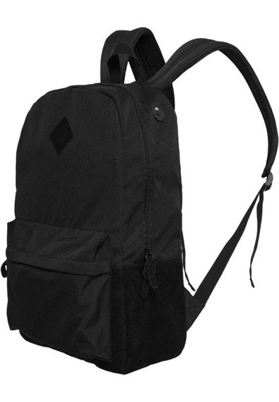 plecak BACKPACK LEATHER IMITATION blk/blk