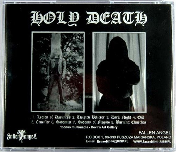 płyta CD: HOLY DEATH - SODOMY OF MEGIDO (FA666 004)