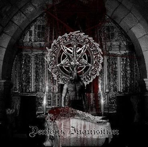 płyta CD: NAZARENE DECOMPOSING - DEMONIC INQUISITION