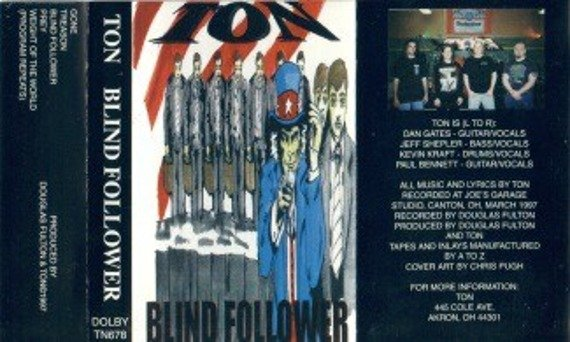 płyta CD: TON - BLIND FOLLOWER
