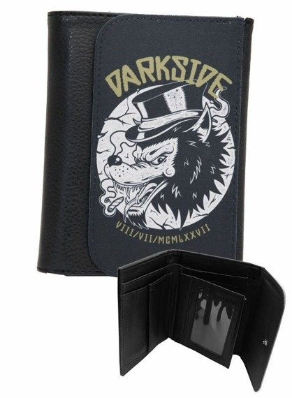 portfel DARKSIDE - TOP HAT WOLF