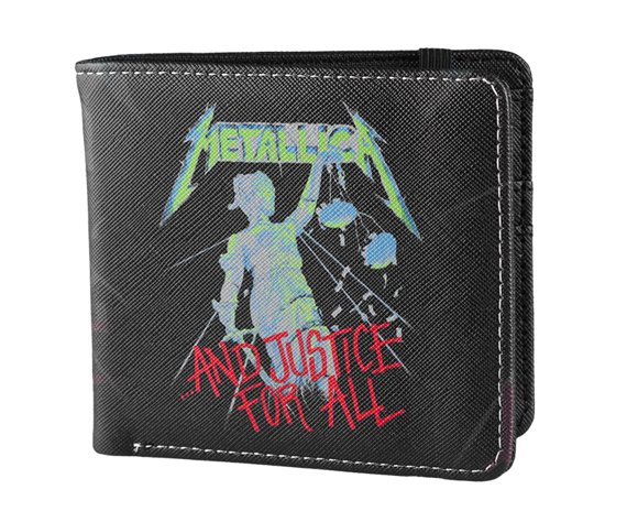 portfel METALLICA - AND JUSTICE FOR ALL