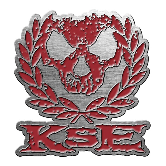 przypinka KILLSWITCH ENGAGE - SKULL WREATH