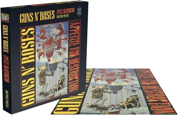 puzzle GUNS N'ROSES - APPETITE FOR DESTRUCTION 1, 500 el.