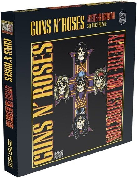 puzzle GUNS N'ROSES - APPETITE FOR DESTRUCTION 2, 500 el.