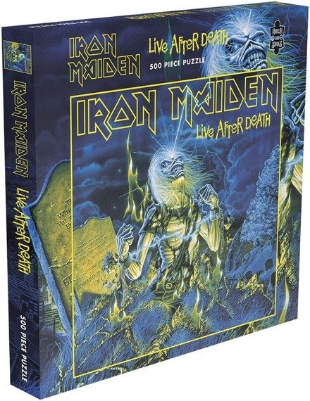 puzzle IRON MAIDEN - LIVE AFTER DEATH, 500 el.