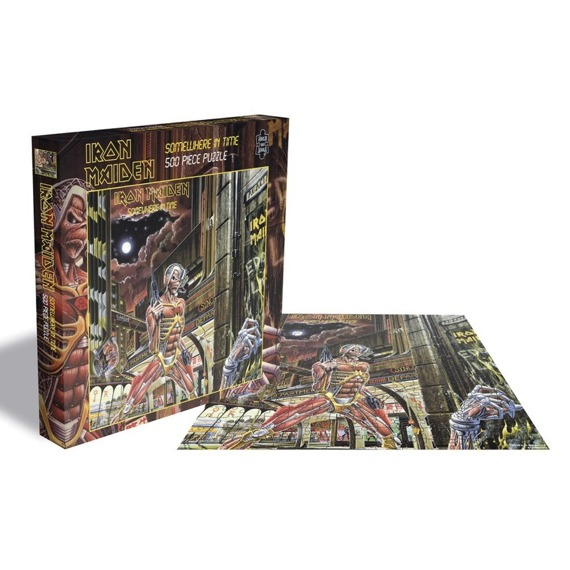 puzzle IRON MAIDEN - SOMEWHERE IN TIME, 500 el.