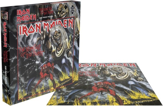 puzzle IRON MAIDEN - THE NUMBER OF THE BEAST, 500 el.