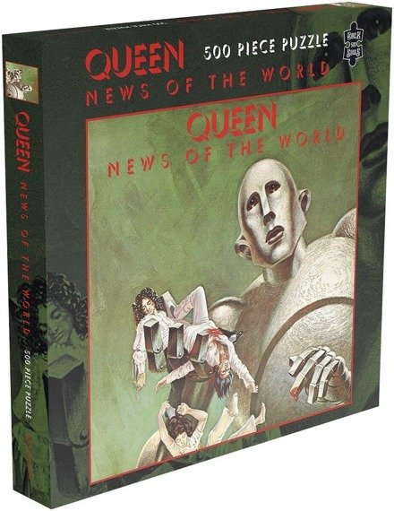 puzzle QUEEN - NEWS OF THE WORLD, 500 el.