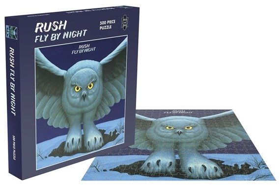 puzzle RUSH - FLY BY NIGHT, 500 el.