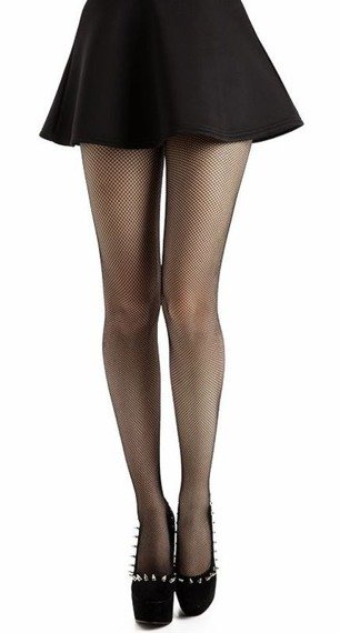 rajstopy Micro Fishnet Black