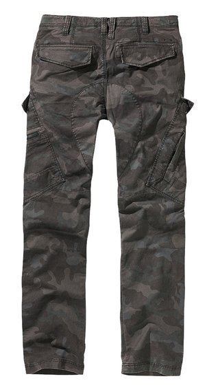 spodnie bojówki ADVEN TROUSERS SLIM FIT darkcamo