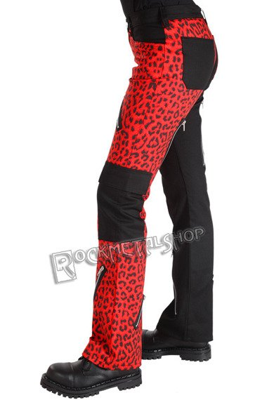 spodnie unisex FREAK PANTS LEO RED