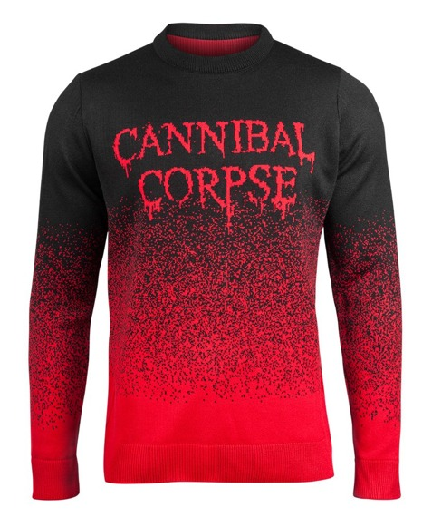 sweter CANNIBAL CORPSE - DRIPPING LOGO
