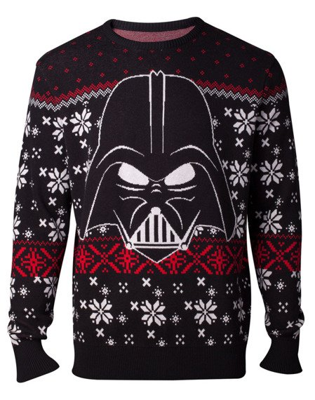 sweter STAR WARS - DARTH VADER KNITTED CHRISTMAS SWEATER