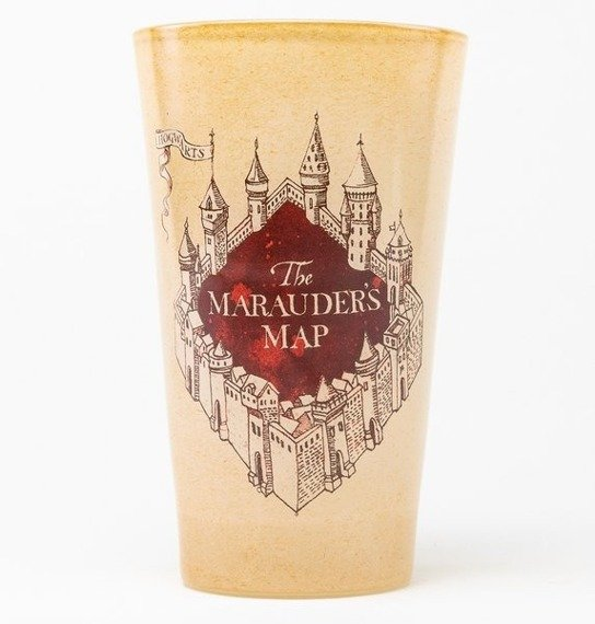 szklanka HARRY POTTER - MARAUDERS MAP